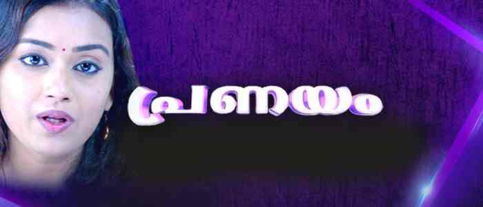 Asianet serial Pranayam