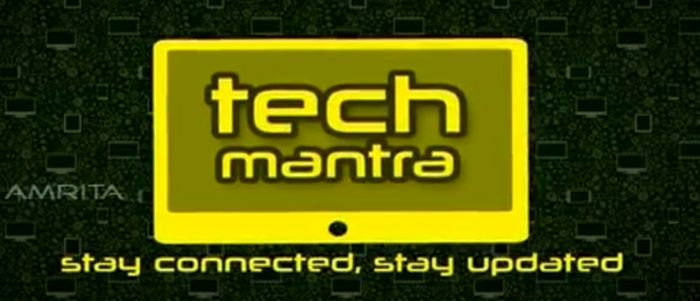 Amrita TV serial Tech Mantra