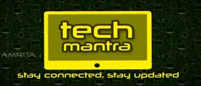 Amrita TV serial Tech Mantra